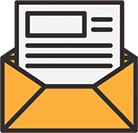 small mail opened icon
